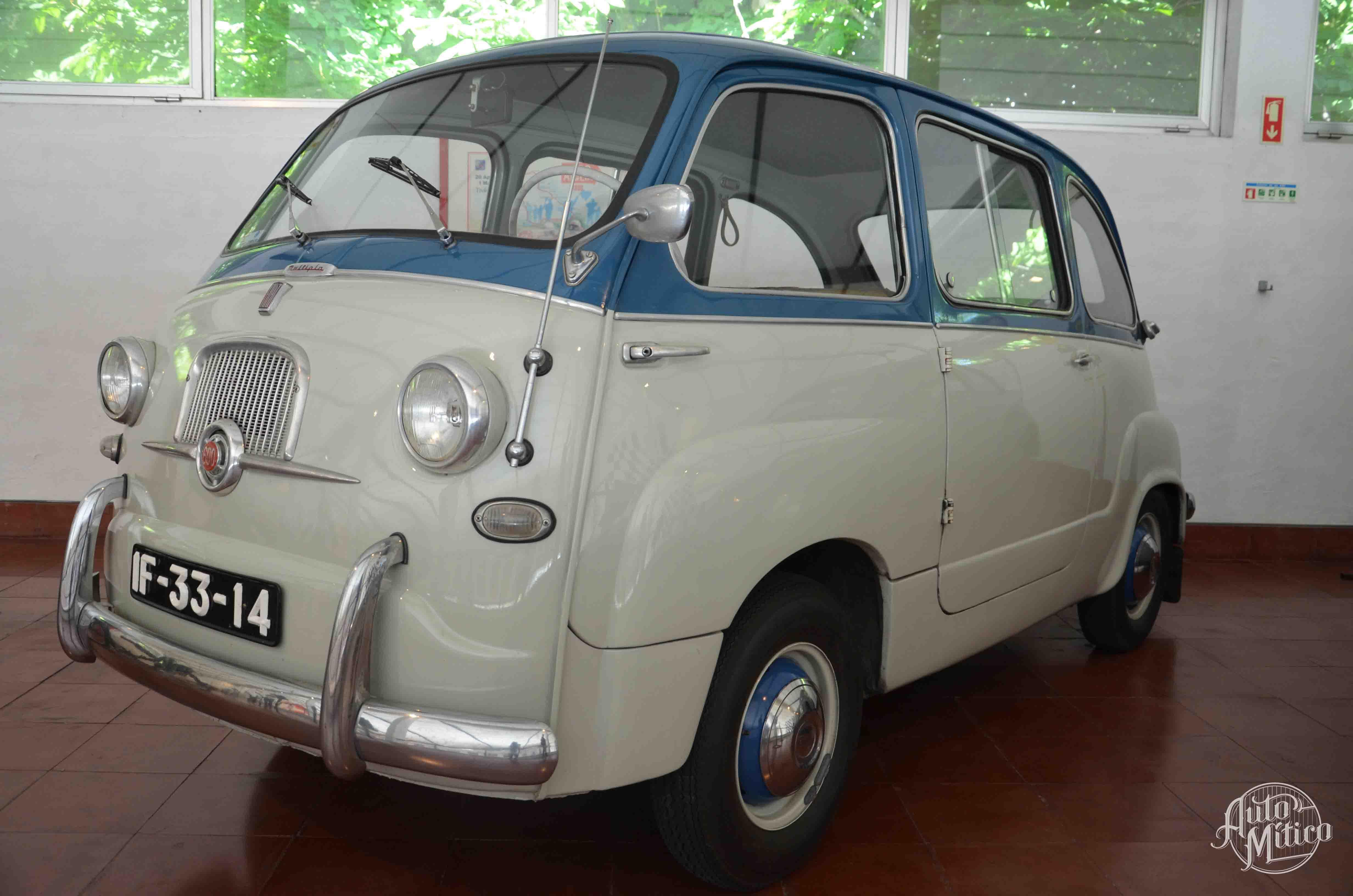 Automitico Caramulo Fiat 600 Multipla 1958