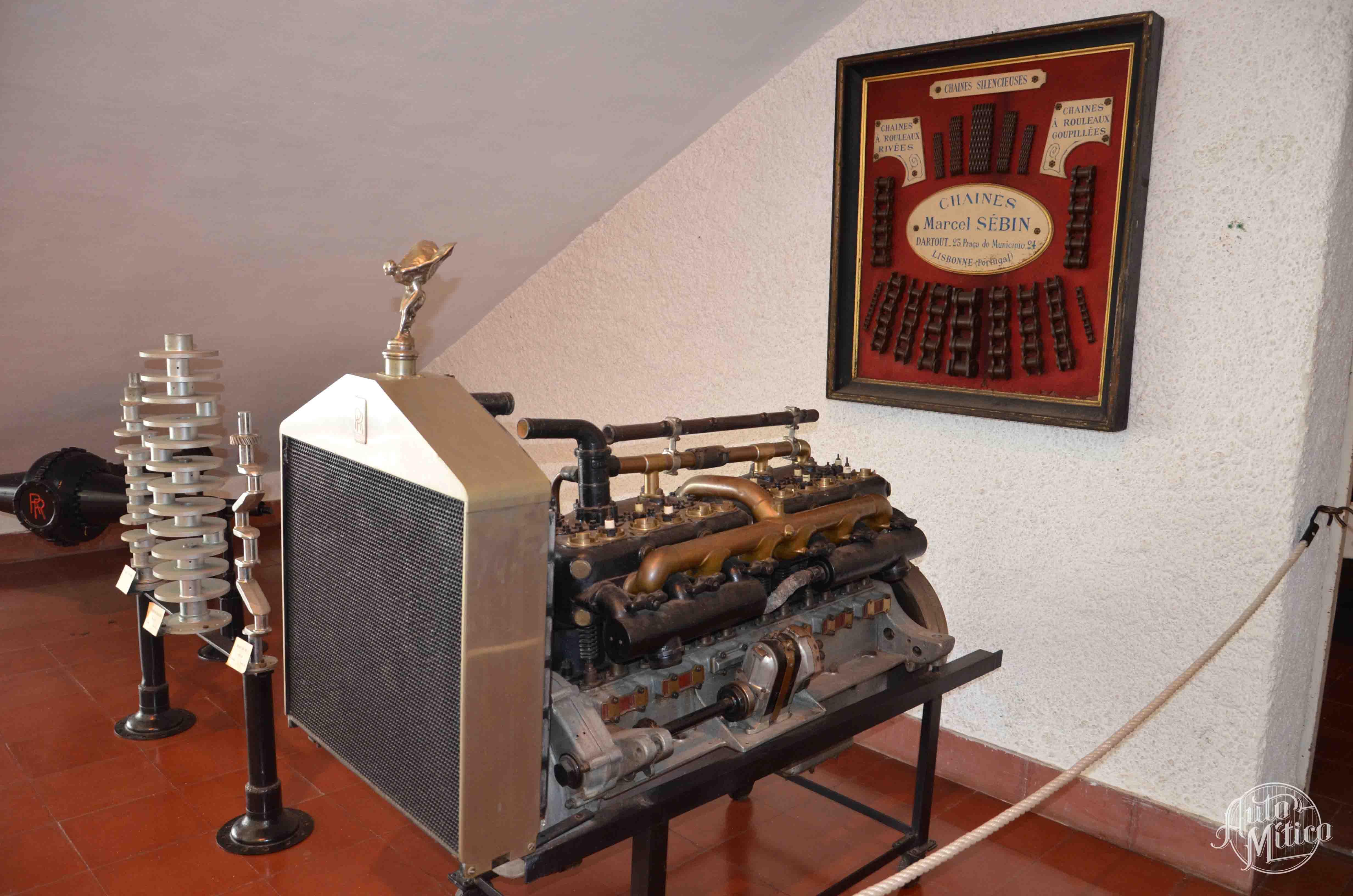 Automitico Caramulo Motor Rolls Royce
