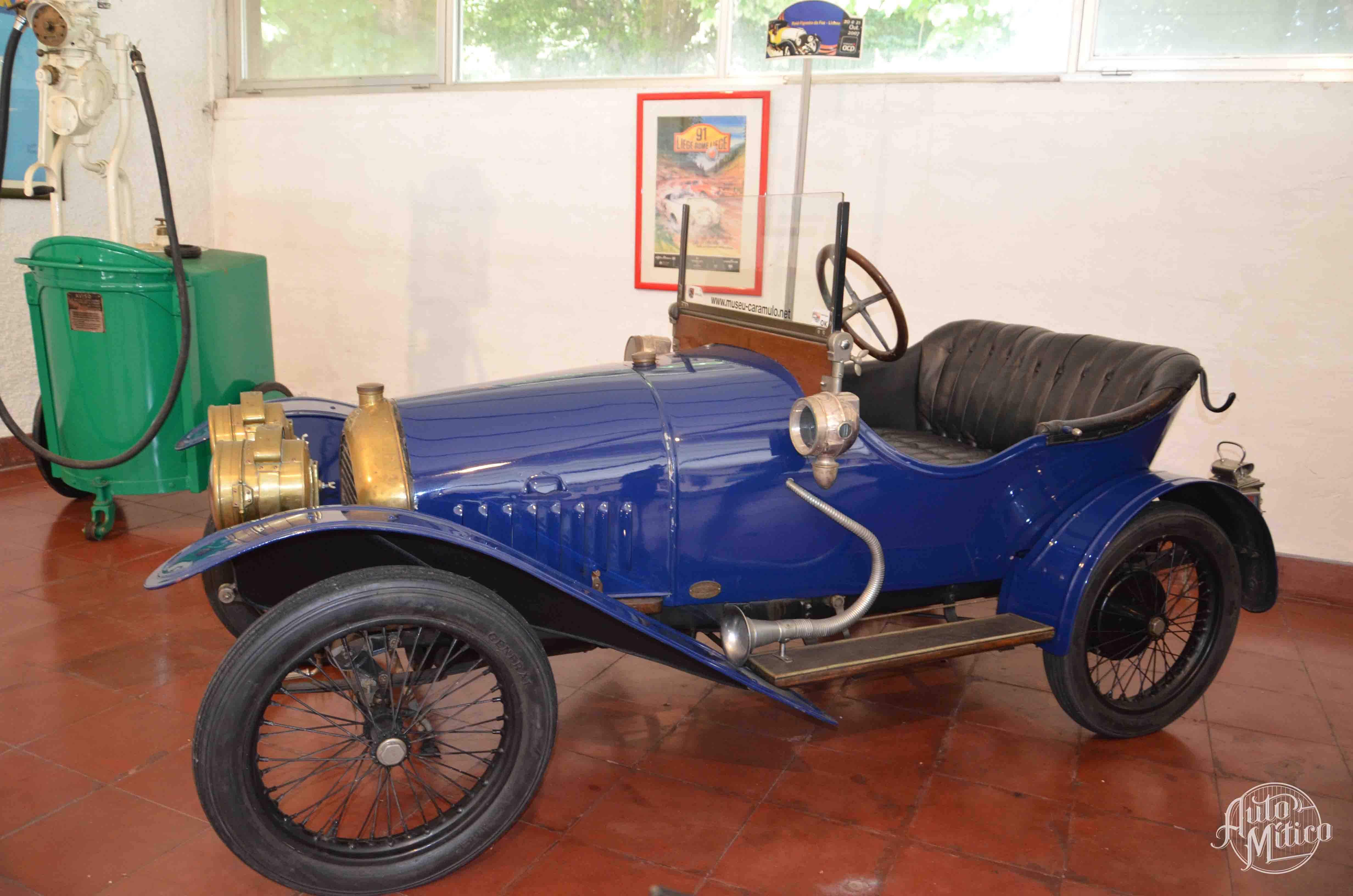 Automitico Caramulo Peugeot Bebe 1914