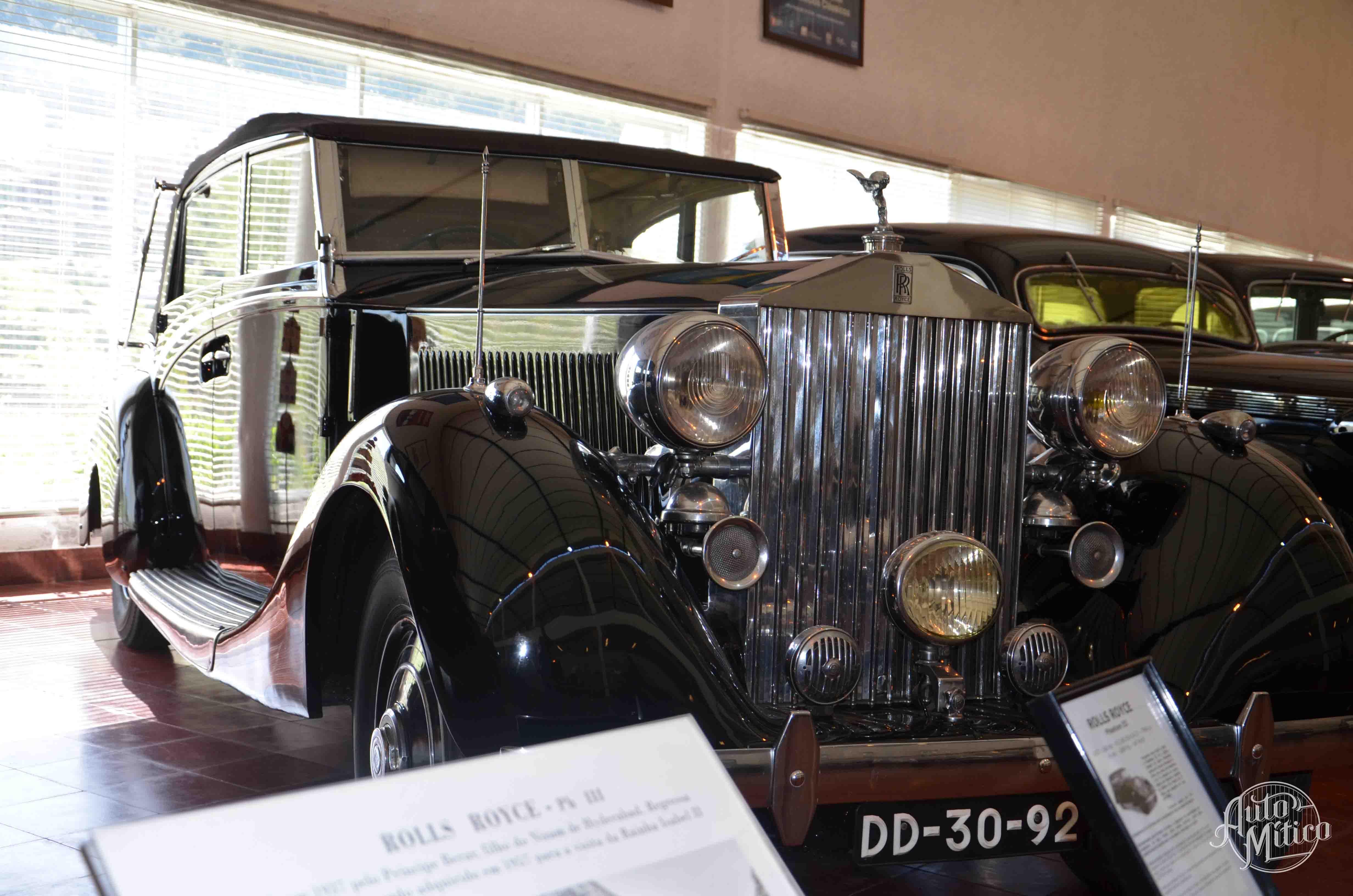 Automitico Caramulo RollsRoyce Phantom III 1937