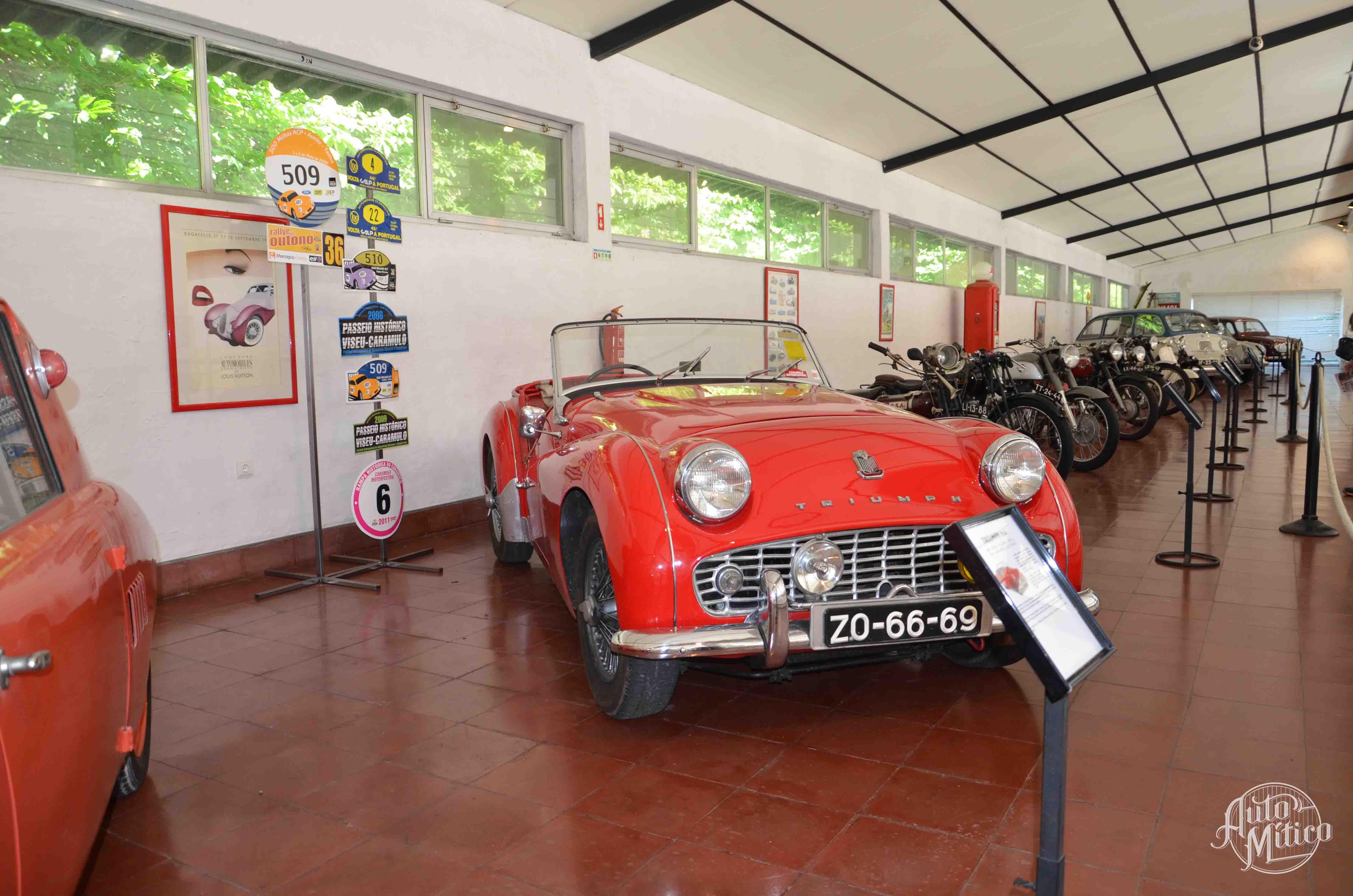 Automitico Caramulo Triumph TR3 1958