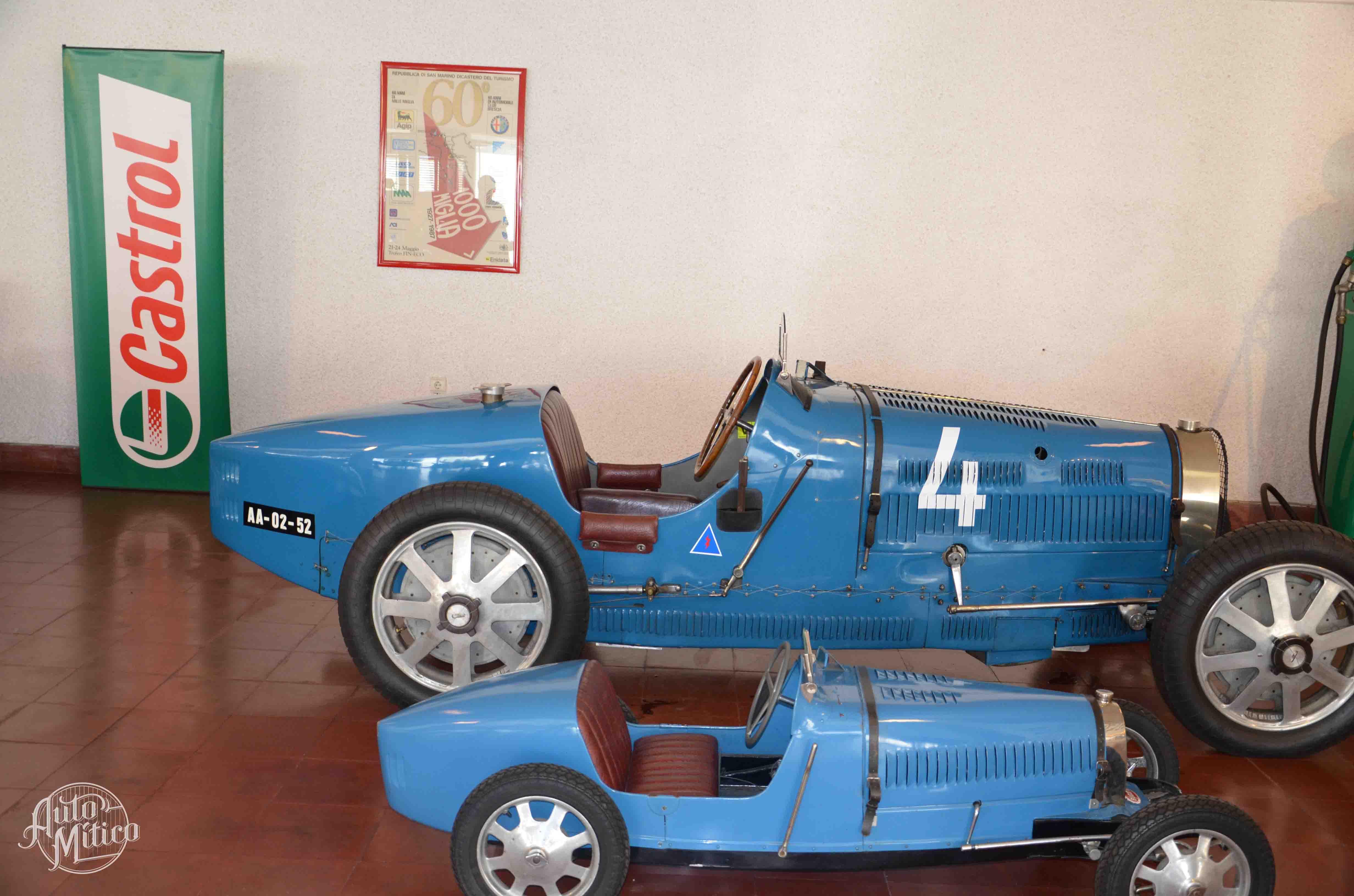Automitico Caramulo Bugatti Type 40 Grandsport 1929 Bugatti Baby 1927